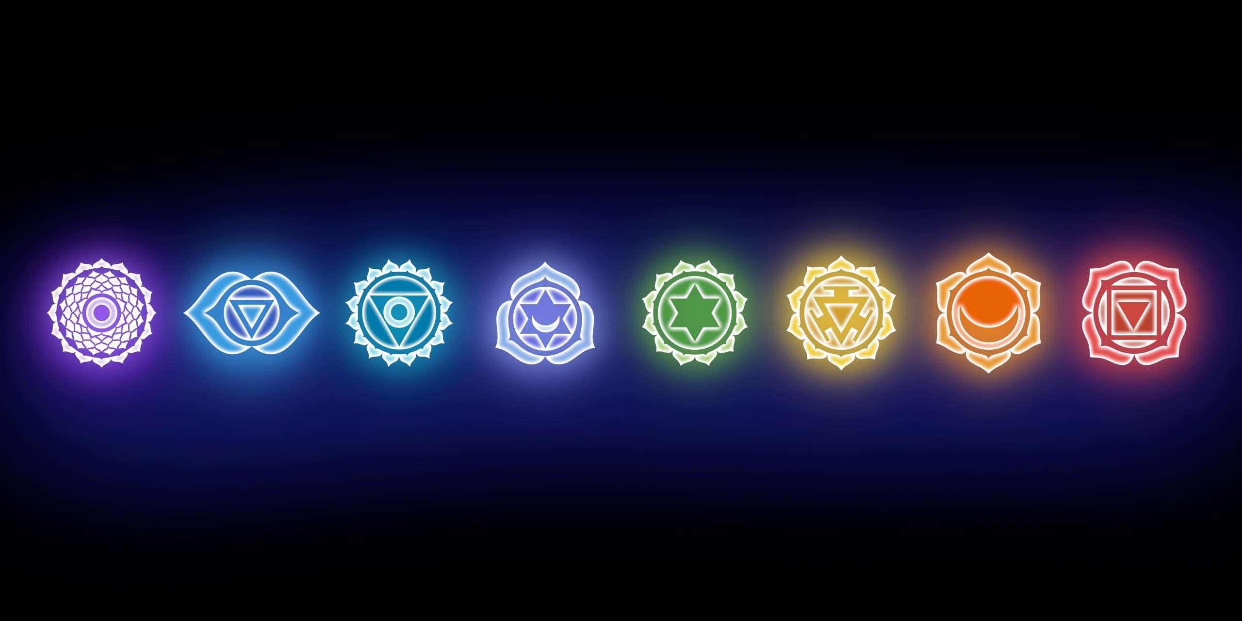 Trattamento colori dei chakras
